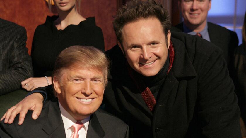 Donald Trump y Mark Burnett.
