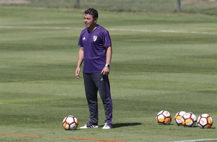 El entrenador de River Plate, Marcelo Gallardo. EFE/Archivo