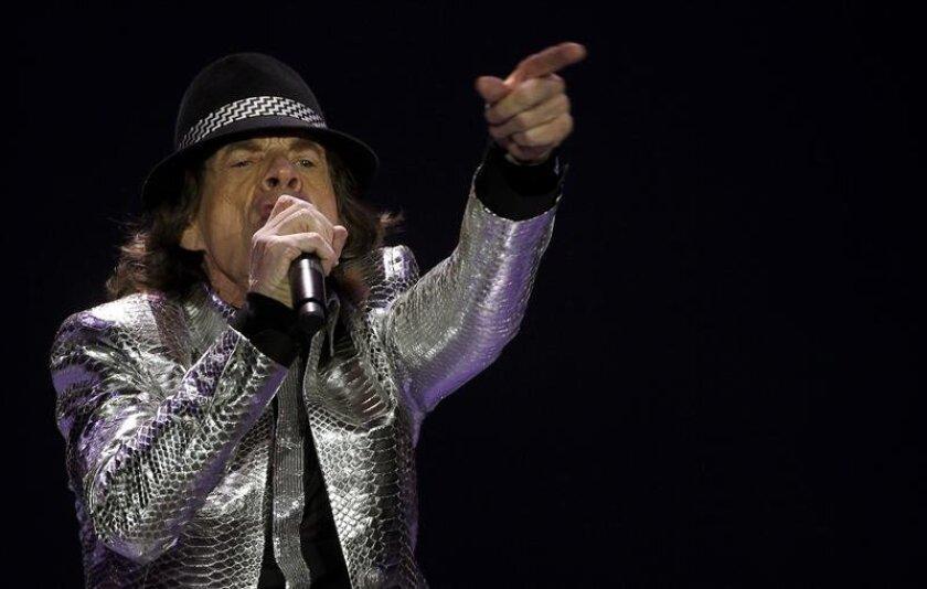 El vocalista de The Rolling Stones, Mick Jagger, en el O2 Arena de Londres (Reino Unido). EFE/Archivo