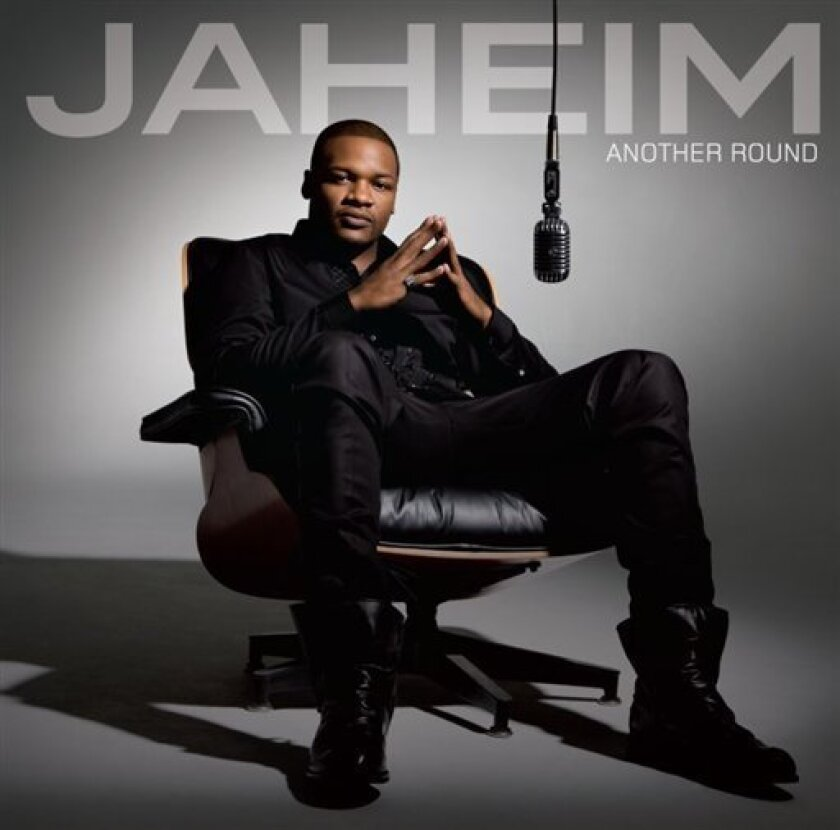 """In this CD cover image released by Atlantic Records , Jaheim's """"Another Round,"""" is shown. (AP Photo/Atlantic Records)"""