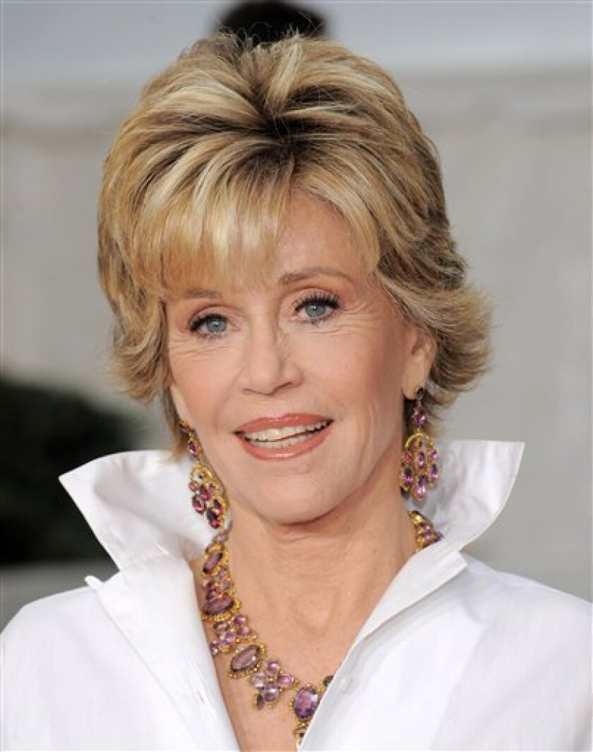 In this Sept. 22, 2008 file photo, actress Jane Fonda attends the Metropolitan Opera season opening night gala performance at Lincoln Center in New York. (AP Photo/Evan Agostini, file)