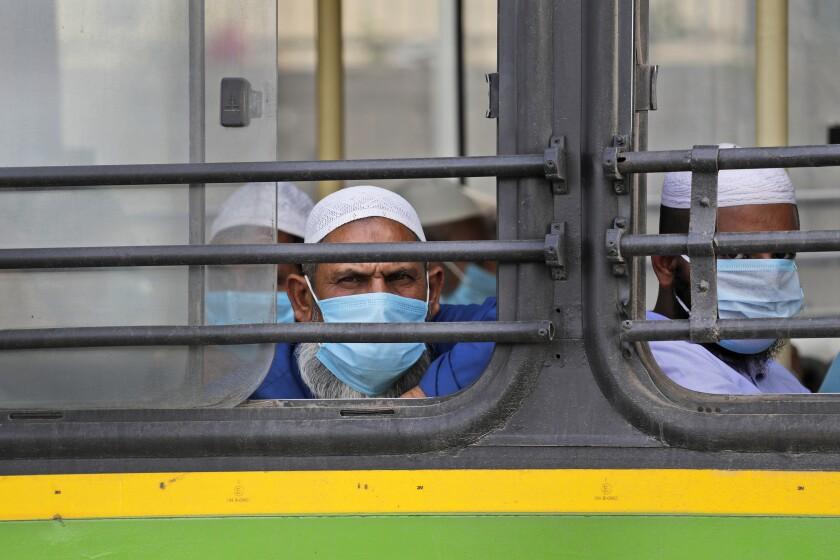 Virus Outbreak India Islamophobia