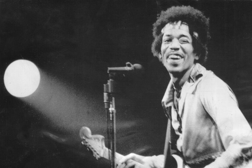 Jimi Hendrix redefined the parameters of the electric guitar, and rock music, in the 1960s.