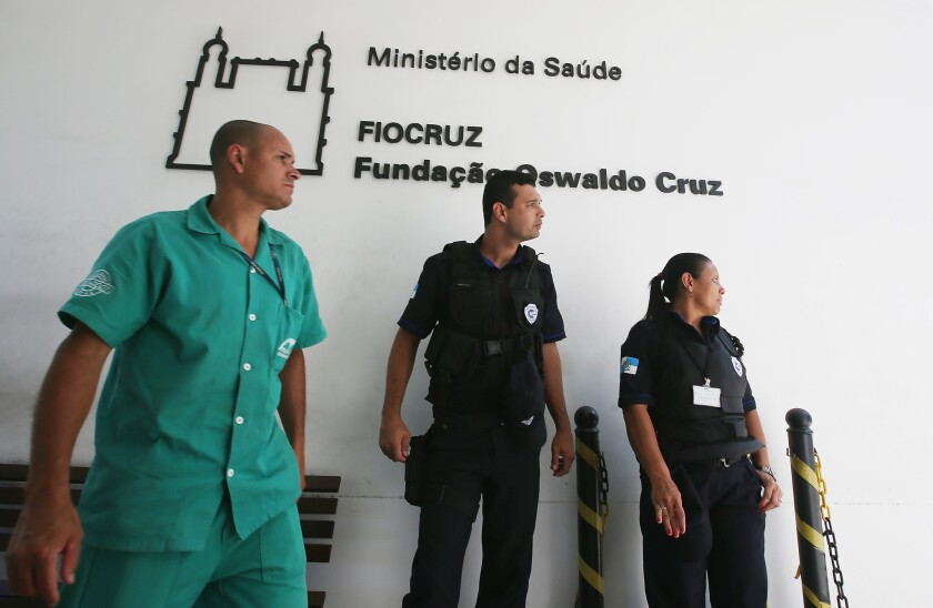 Brazil releases patient checked for Ebola