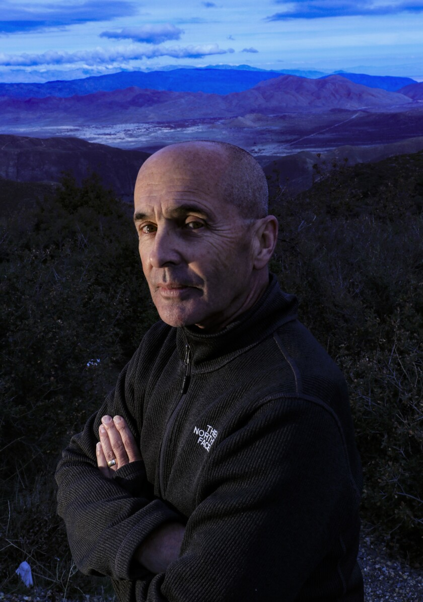 Don Winslow in San Diego County in 2019.