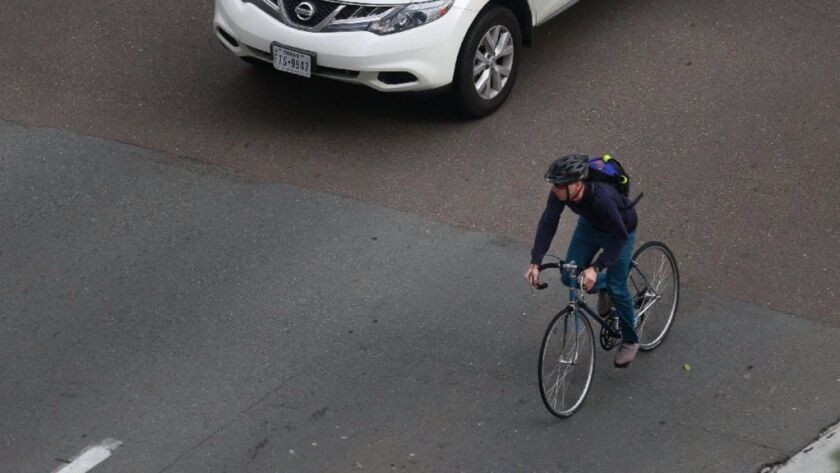 Bicyclists who ride downtown will see improvements in the coming years thanks to the Downtown Mobility Plan, which was unanimously approved by the City Council last year.