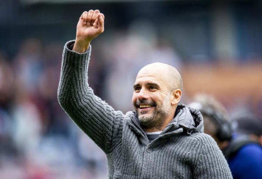 Guardiola, mejor entrenador de la Premier en abril
