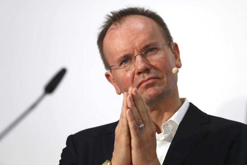 Markus Braun, ex-CEO of Wirecard
