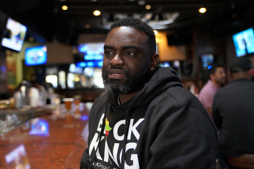 Job Brunat sat in the True North Tavern on Sunday in North Park and talked about how he has followed Kobe Bryant since 1996. Brunat says he respected Bryant for everything he did on and off the court as a player and family man.