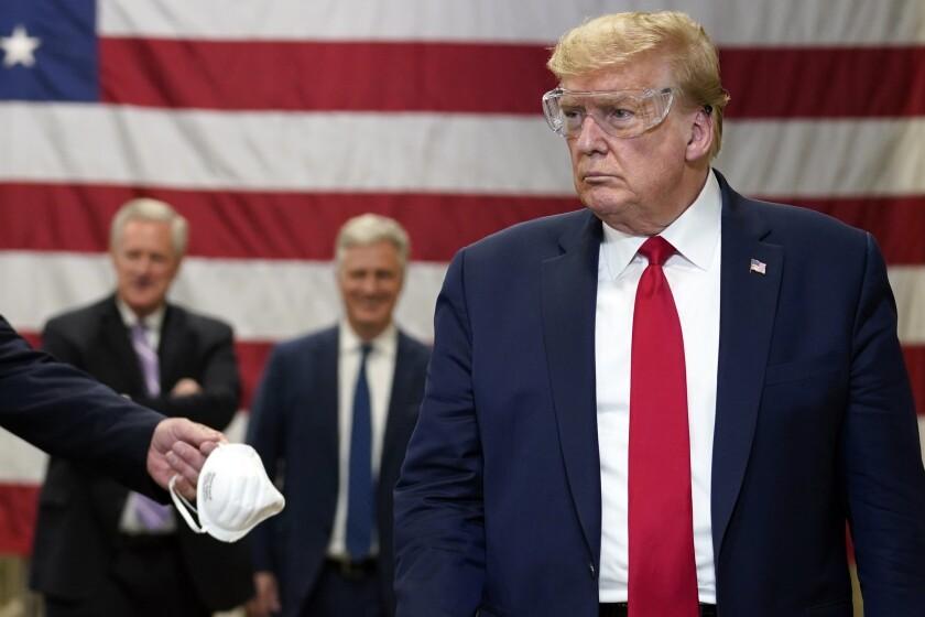President Trump tours Honeywell plant