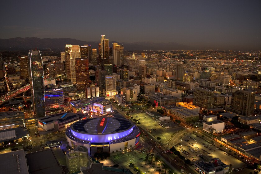 Staples Center, Downtown Los Angeles