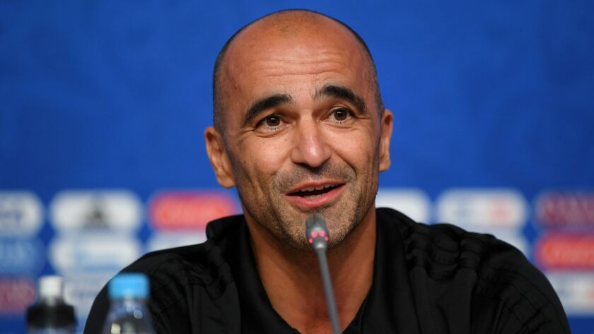 Belgium Press Conference - 2018 FIFA World Cup Russia