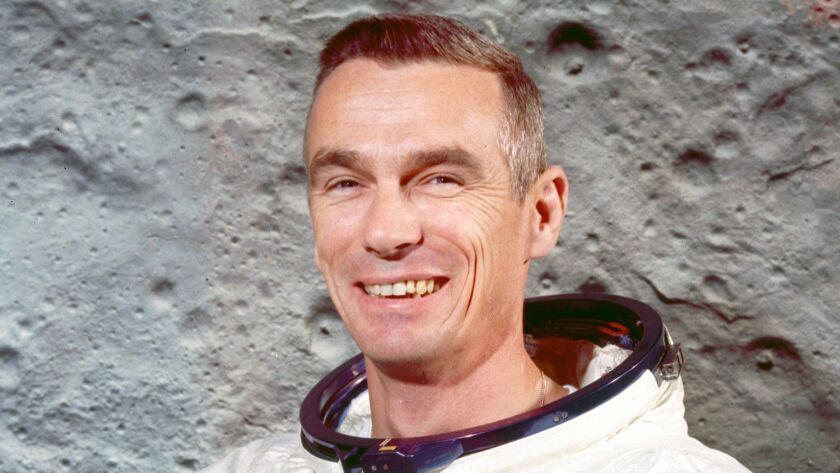 Apollo 10 astronaut Gene Cernan, pictured in 1969.