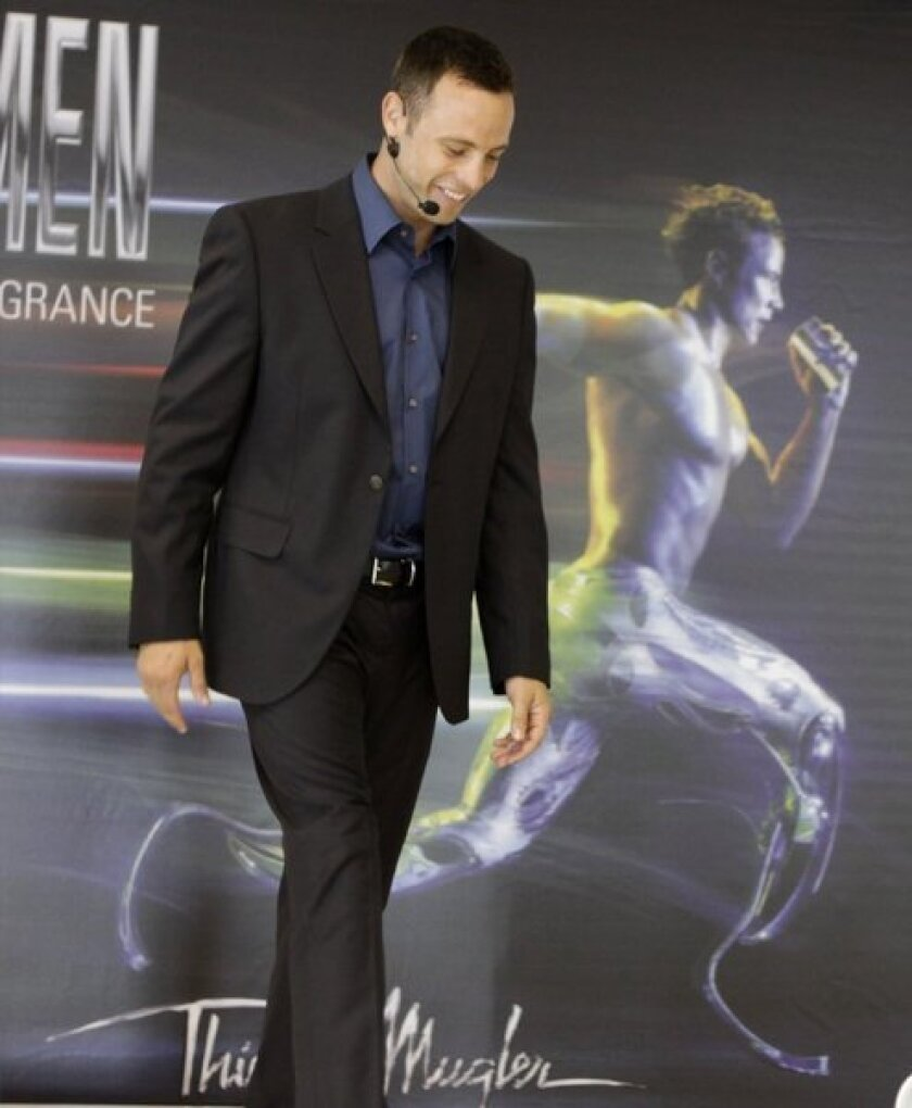Thierry Mugler drops Oscar Pistorius from fragrance ad campaign