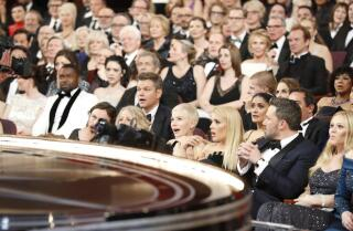 How L.A. Times photographer Al Seib captured a surreal Oscar moment