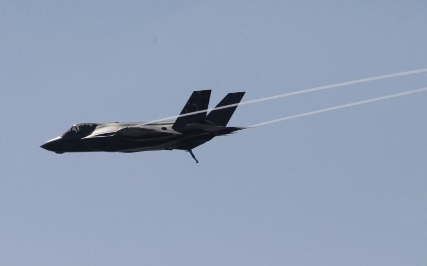 F-35 stealth fighter jet