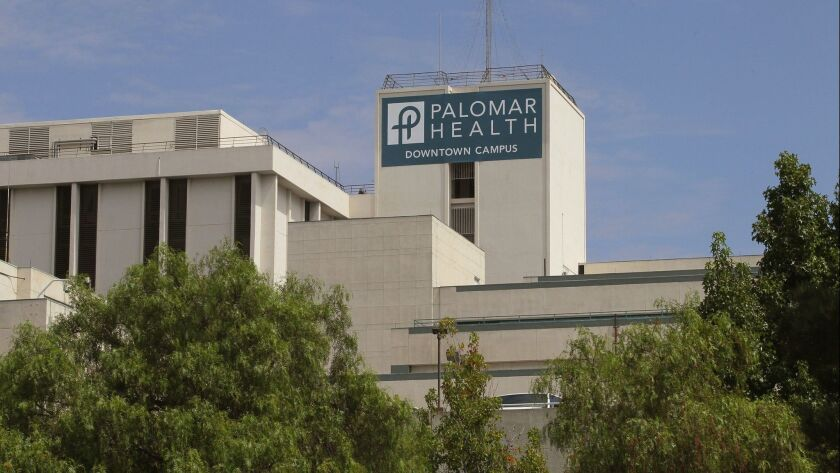 The Palomar Health downtown campus in Escondido has been sold for $18 million to a housing development company.