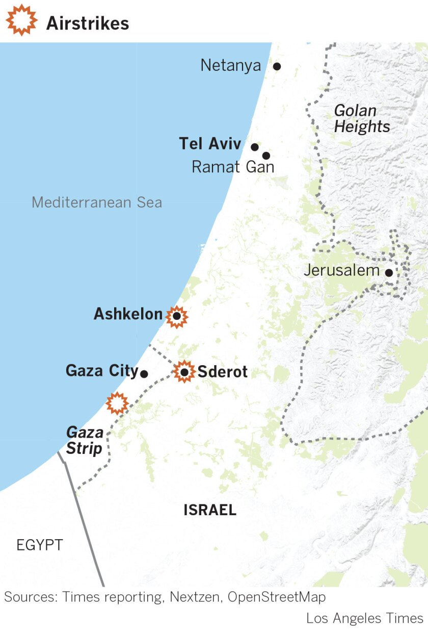 Intense rocket fire at Israel-Gaza border leaves at least 27 ... on jerusalem to gaza map, israel west bank map, west bank and gaza map, 2014 israel map, gaza strip map, israel gaza strip,