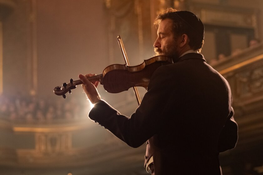 Clive Owen in the movie 'The Song of Names'