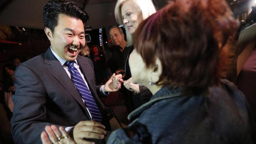 David Ryu is just the second Asian American elected to the L.A. City Council. The first was back in 1985.