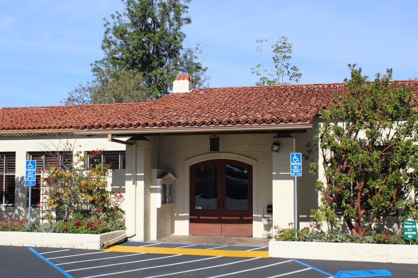 The Art Jury works out of the Rancho Santa Fe Association offices.