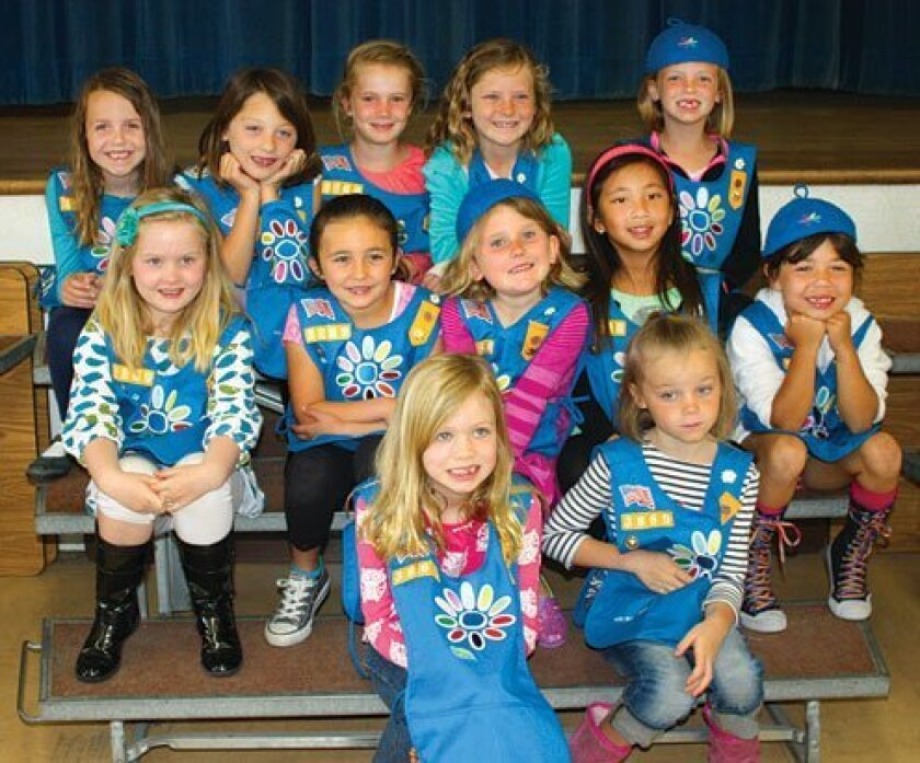 Girl Scout Daisy Troop 3869 (first graders)