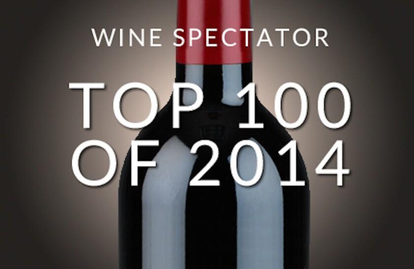 Wine Spectator's top 100 of 2014