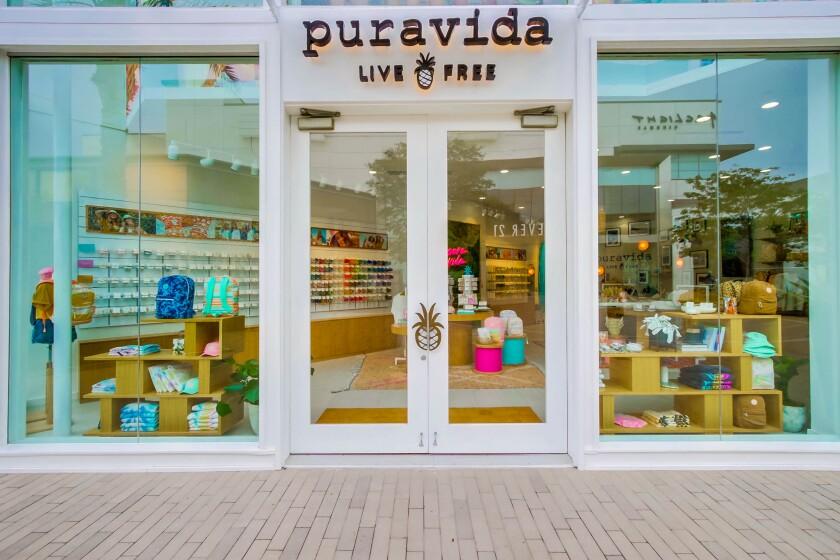 The new Pura Vida store at Westfield UTC opened in August 2021.