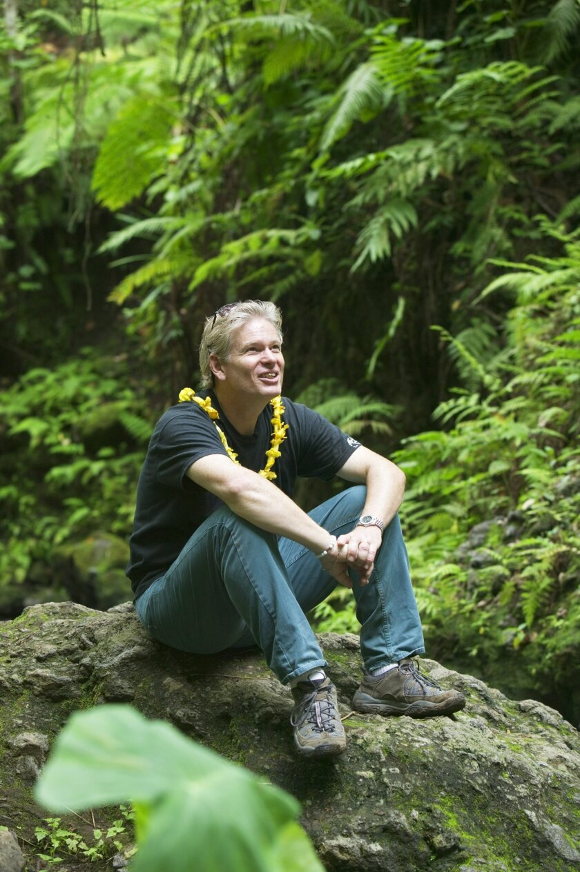 Joe Yogerst in Vanuatu: 'My goal is to find out something I haven't read about before,' he said.