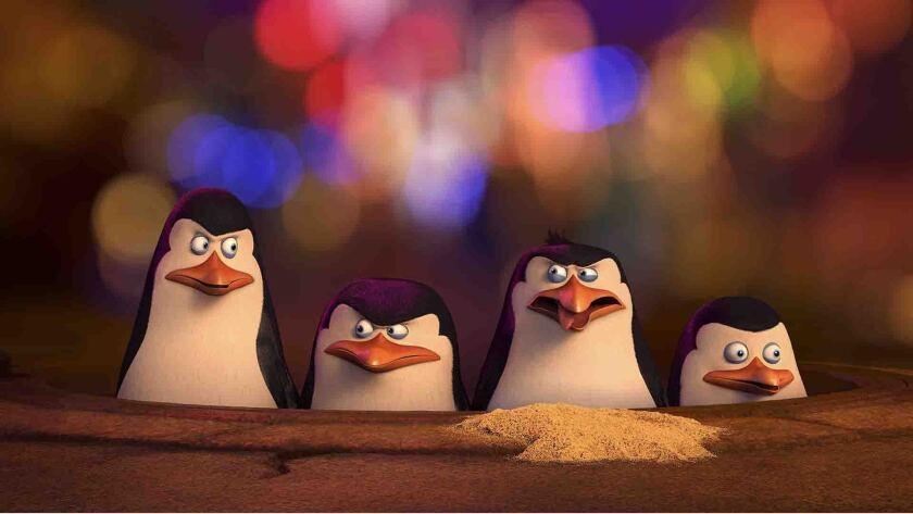 "DreamWorks' most recent release is ""Penguins of Madagascar."""