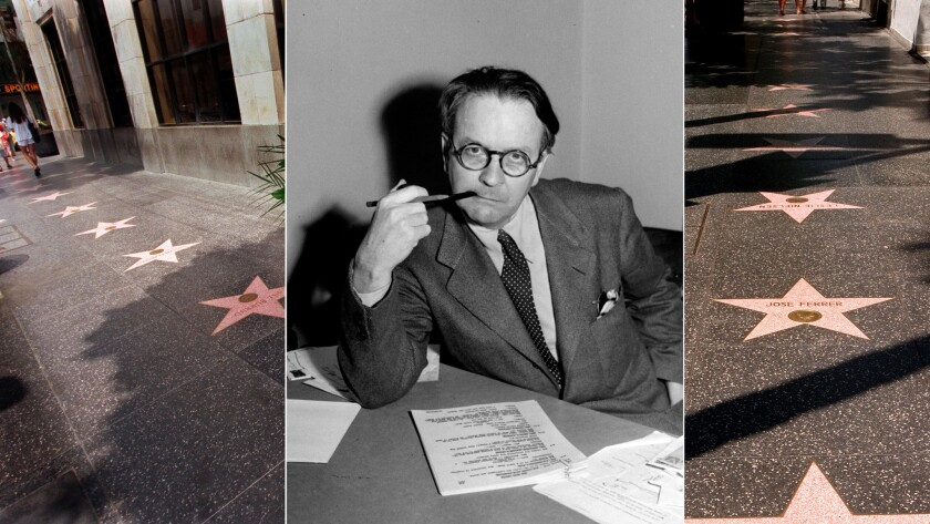 Raymond Chandler will get a star on the Hollywood Walk of Fame