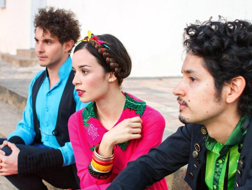 Monsieur Periné performs Tuesday, May 3, at The Music Box, downtown.