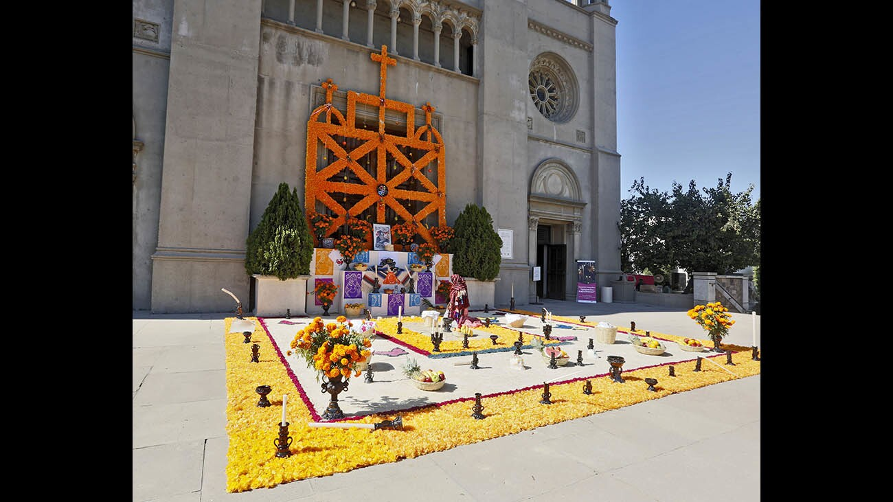 Photo Gallery: Forest Lawn Glendale held media preview for their first annual Dia De Los Muertos