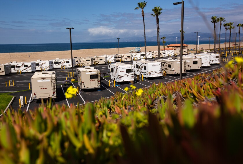 Dockweiler Beach in Los Angeles County could be used as a coronavirus quarantine zone.