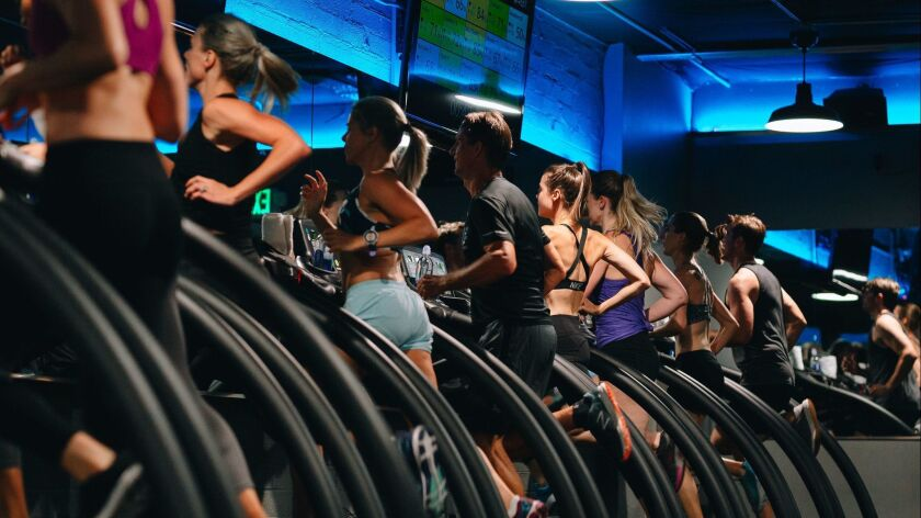 Stride members in full focus during a Signature Sweat Class. Credit: Fitz Carlile