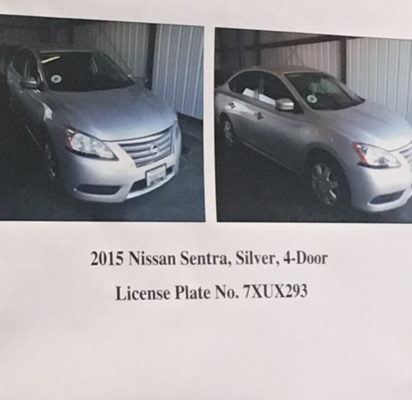 Nissan Sentra identified as Uber vehicle of Alaric Spence in alleged kidnap and sex assault</p>