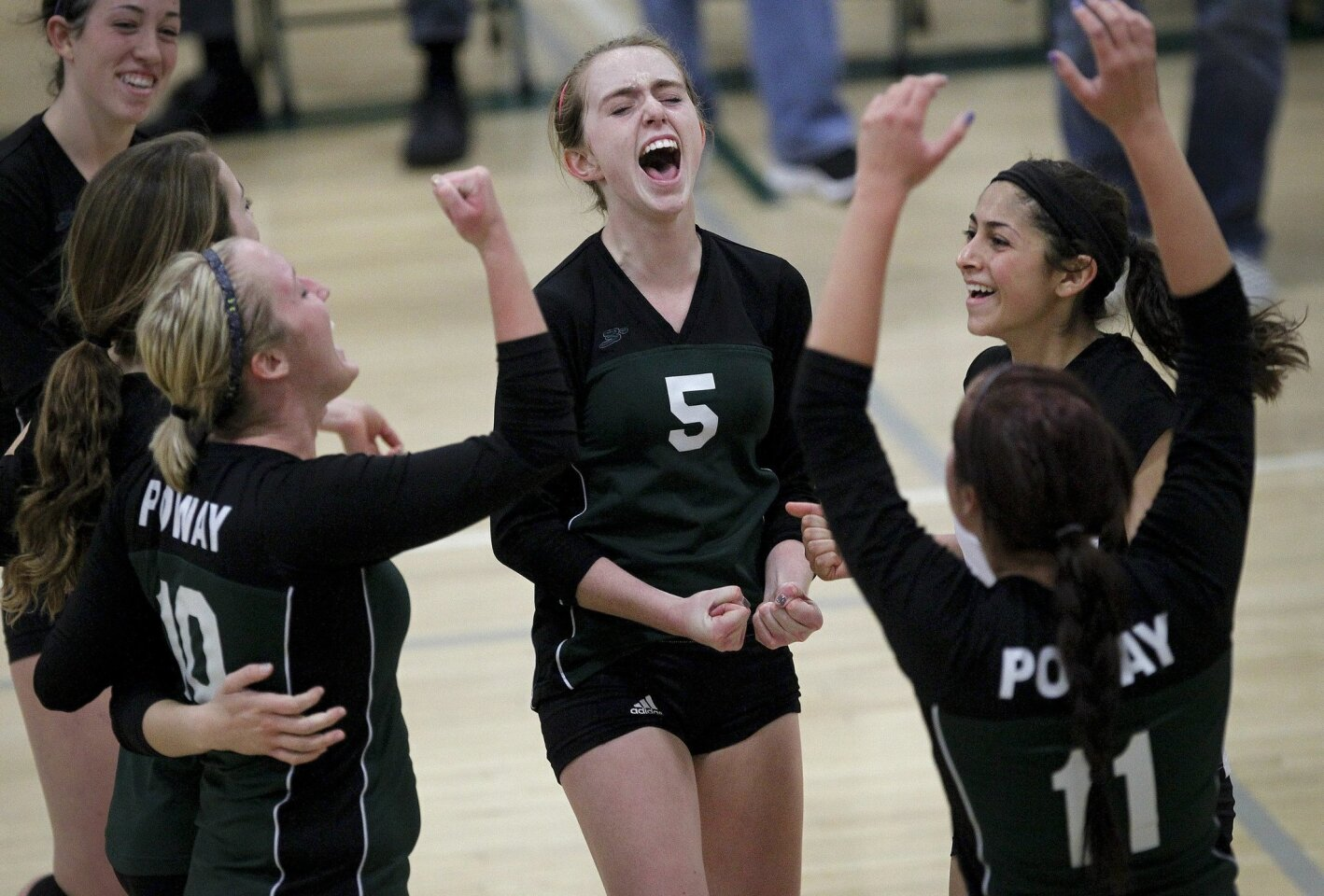 Poway-Eastlake CIF girls volleyball