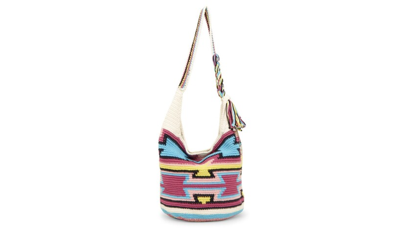 18 different styles of the 120 Hobo, the original bag from The Sak, are hand-made by Balinese artisa