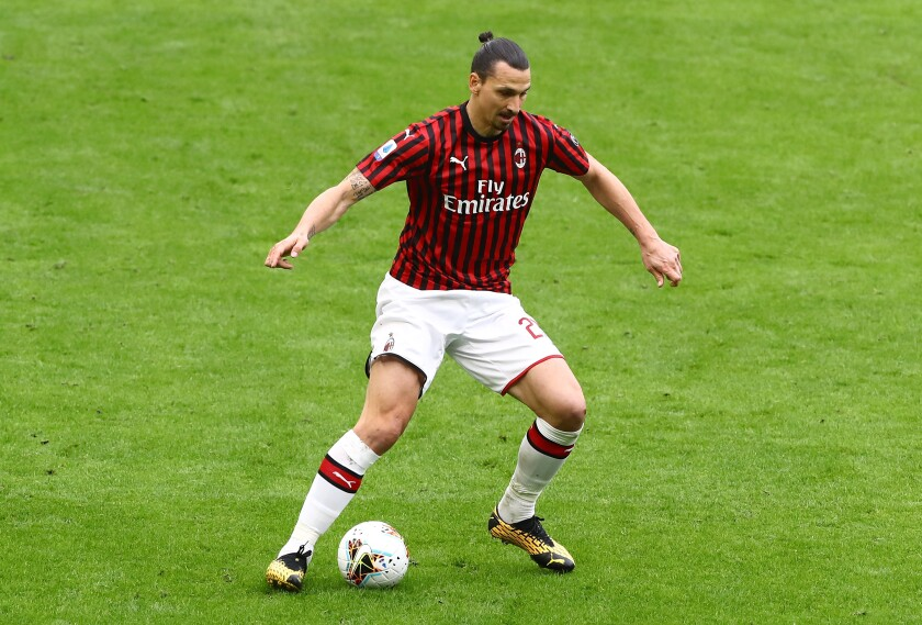 MILAN, ITALY - MARCH 08: Zlatan Ibrahimovic