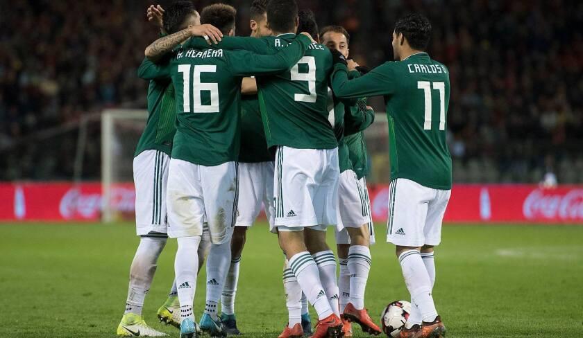 La selección mexicana de futbol debutará ante Alemania en la Copa del Mundo.