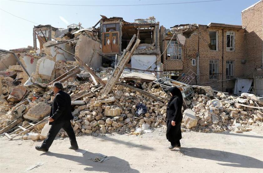 Un terremoto de magnitud 4,9 en la escala abierta de Richter sacudió hoy el norte de Irán, según informó el Servicio Geológico de Estados Unidos (USGS). EFE/ARCHIVO