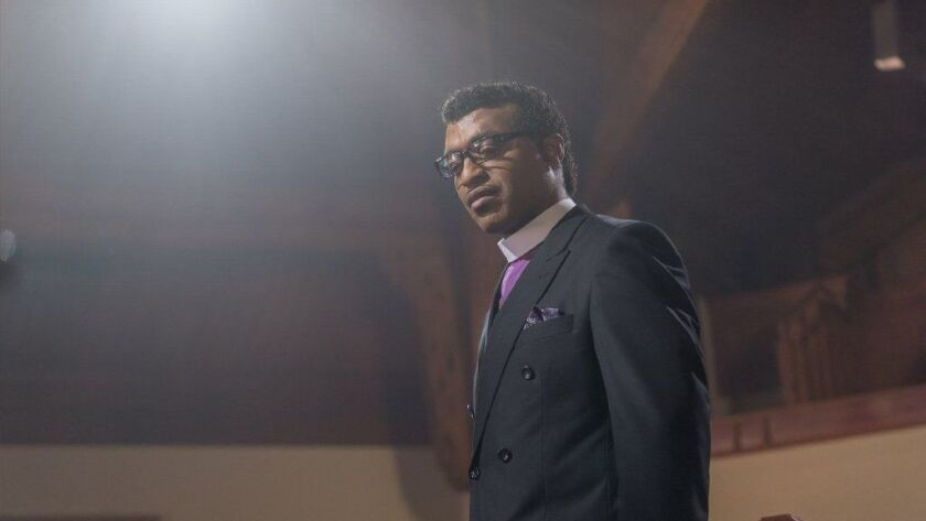 """Chiwetel Ejiofor in a scene from the movie """"Come Sunday."""""""