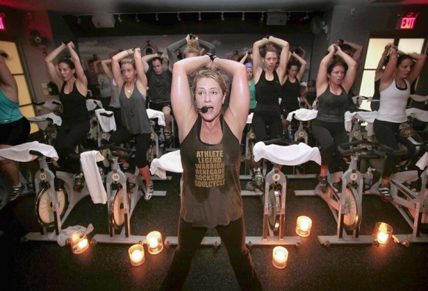 In Your Face Fitness Soulcycle S Mix Of Cycling And Upper