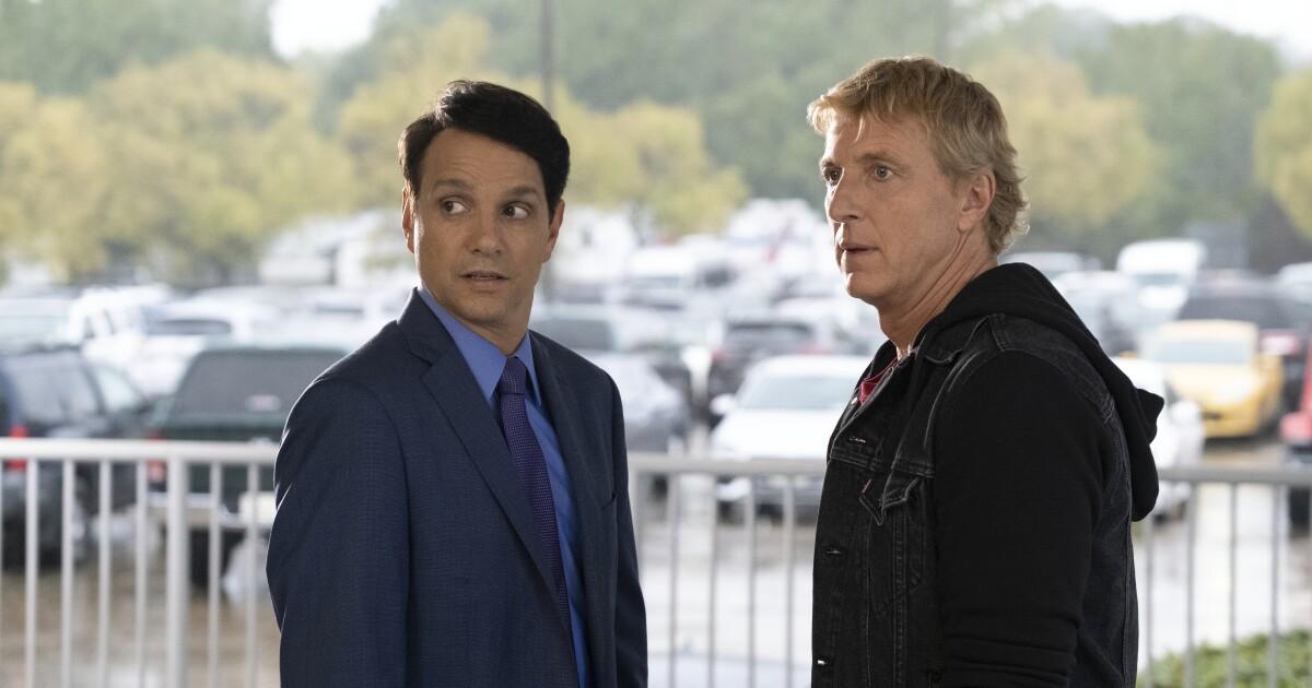 www.latimes.com: At Netflix, 'Cobra Kai' broke out. Now its whiteness is under a new spotlight