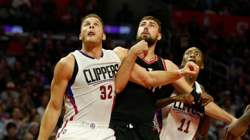 Blake Griffin averaged 21.6 points with 8.1 rebounds per game for the Clippers last season.