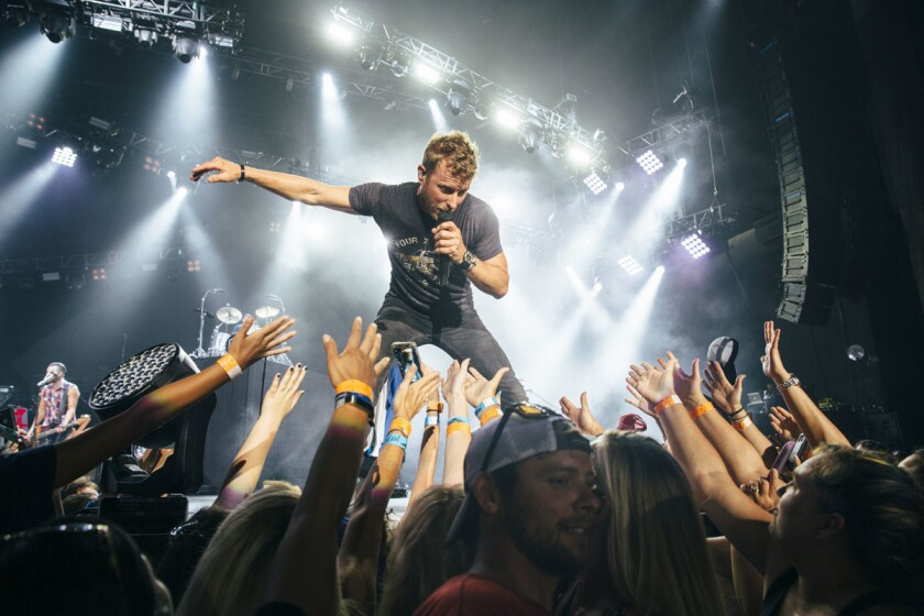 Dierks Bentley is bringing his world tour to San Diego Aug. 25, 2017. (Courtesy photo)