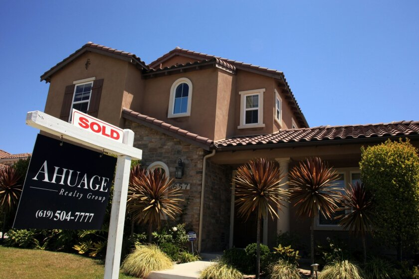 Move-up buying is going through a revival. Rising home prices have allowed more property owners to get out of negative equity, allowing them to sell their homes for a profit or at least break even. Misael Virgen/ UT San Diego