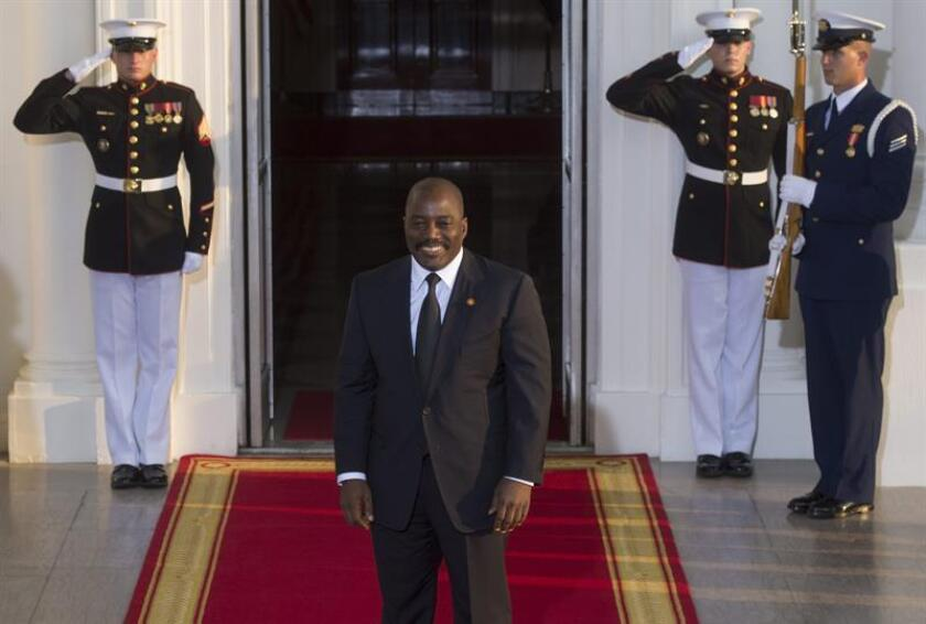 El secretario general de la ONU, António Guterres, aplaudió hoy la decisión del presidente de la República Democrática del Congo (RDC), Joseph Kabila, de acatar la Constitución del país tras no haberse presentado a las elecciones del próximo 23 de diciembre para un tercer mandato. EFE/ARCHIVO