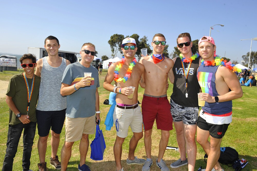 SPOTTED: Love and equality were celebrated at the South Bay Pride celebration at Bayside Park in Chula Vista on Saturday, Sept. 8, 2018.