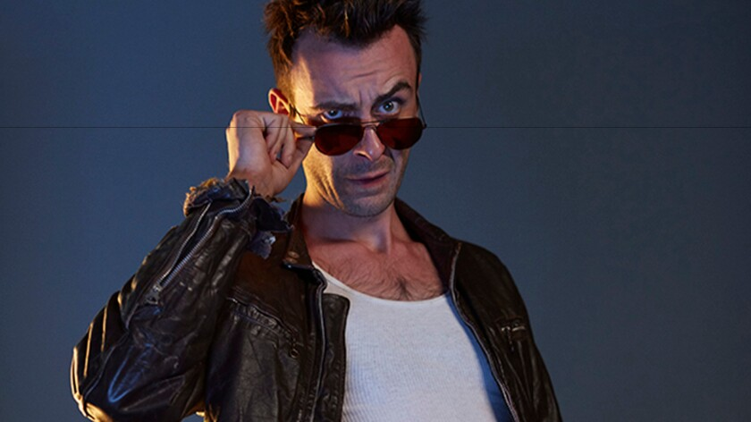 """Blood and my character are like peas and carrots"": Joe Gilgun on his ""Preacher"" persona, the fangless vampire Cassidy."